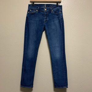 7 FAMK women's Josefina skinny boyfriend jeans